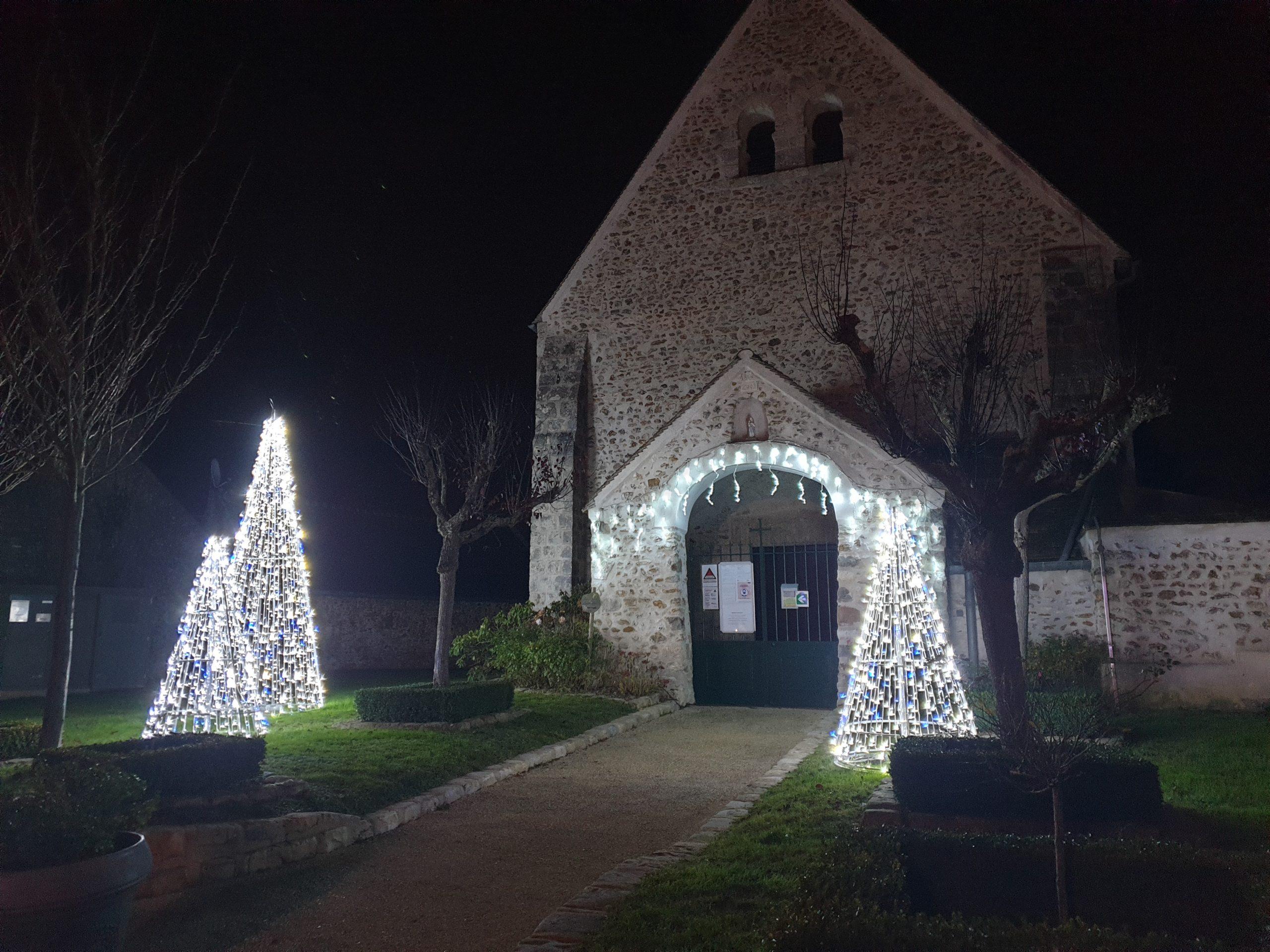 intérieur église Ponthévrard